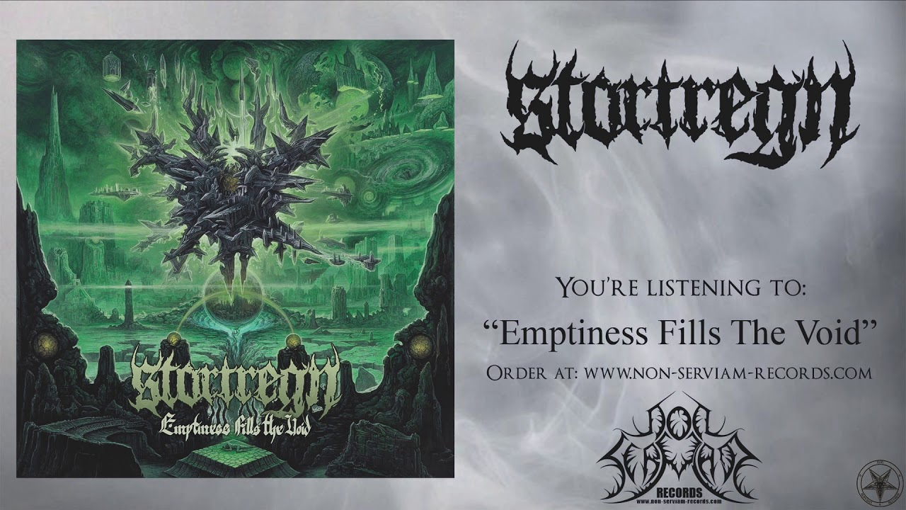 Stortregn – Emptiness Fills The Void [Full Album / Black/Death Metal HQ]