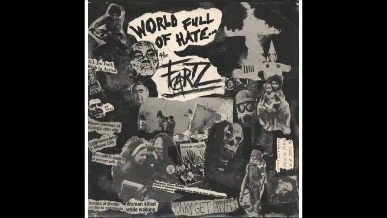 The Fartz – World full of hate (LP 1982)