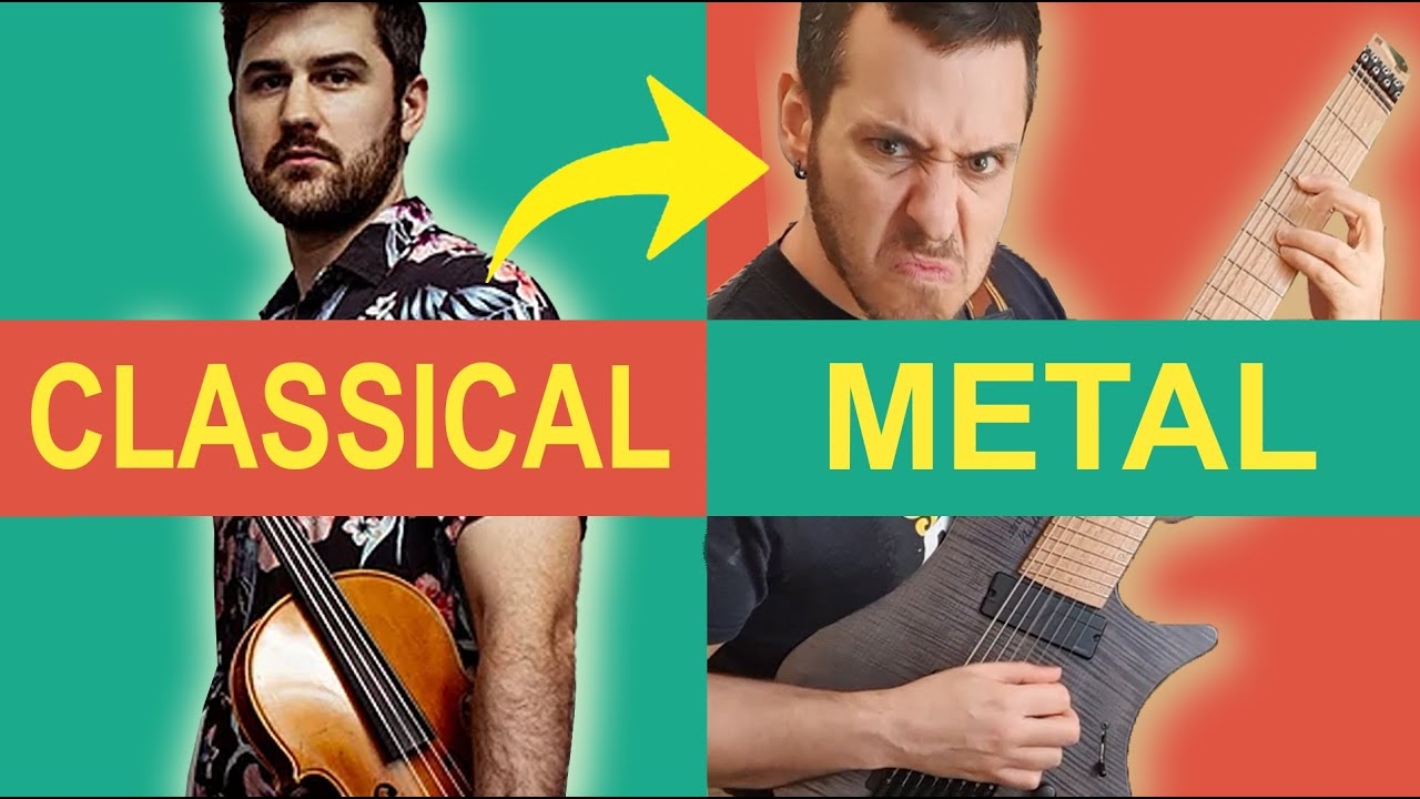 5 Classical Composers write for HEAVY METAL BAND