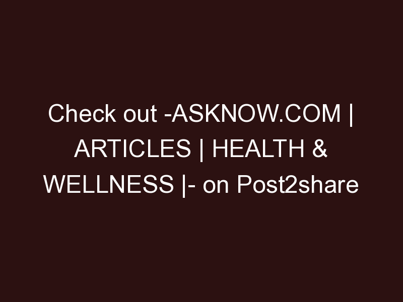 AskNow.com | Articles | Health & Wellness | Self-Care: Dare to Put Yourself First