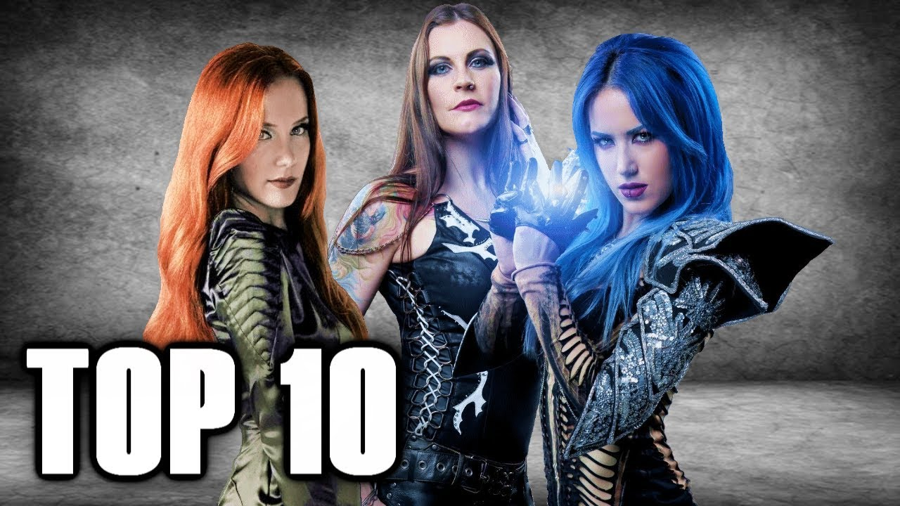 Top 10 METAL FRONTWOMEN 🤘