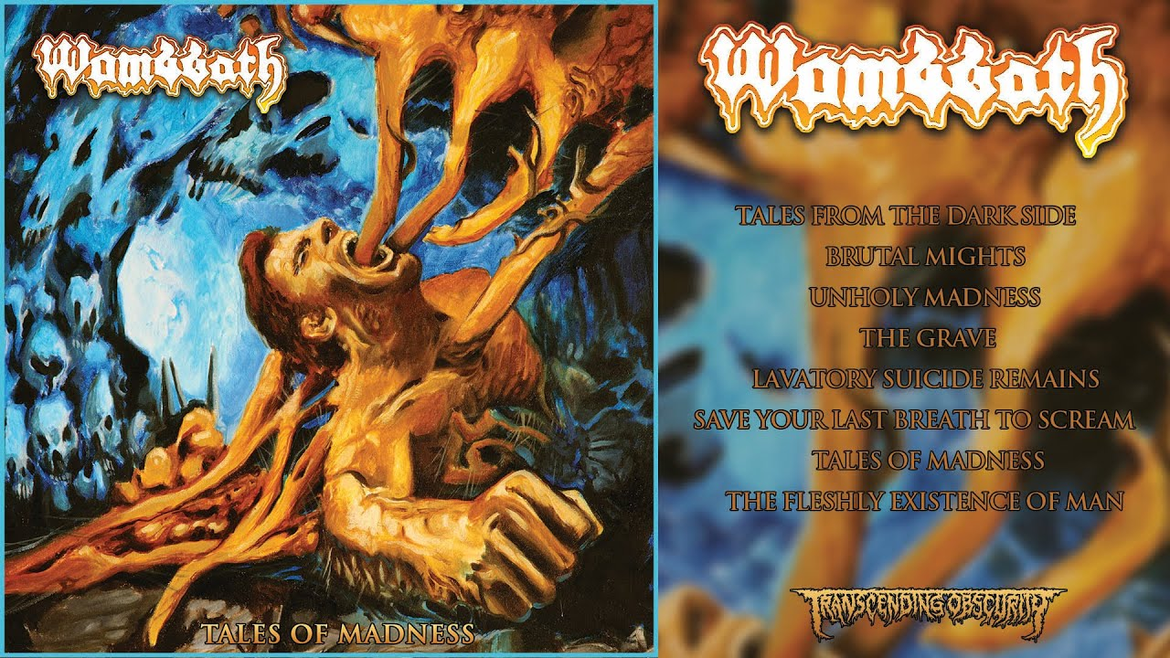 WOMBBATH (Sweden) – Tales of Madness FULL ALBUM STREAM (Death Metal) Transcending Obscurity
