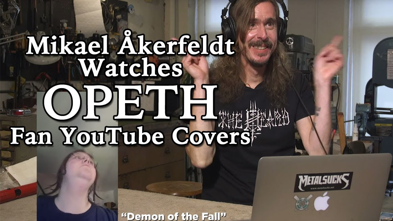OPETH's Mikael Åkerfeldt Watches Fan YouTube Covers