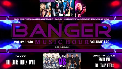 Check us out on the Banger Music Hour click the link and give us your vote for Slam or Jam 🤘🏼🎶She really wants you to…
